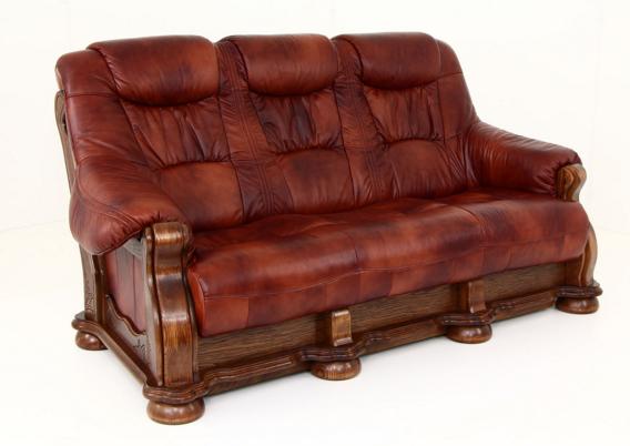 """Классический мягкий диван """"CEZAR"""" (212см)"""