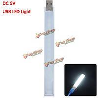 20см 4.5w SMD 5730 LED жесткая полоса белый свет USB 21 LED s свет ПК Компьютер гаджет DC 5V