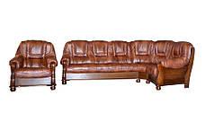 New! Кожаный угловой диван ROMA , фото 2