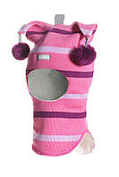 Шапка-шлем Принцеса для девочки (зима)