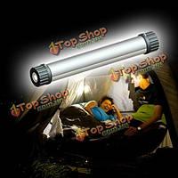 LED Солнечной USB фонарик Мощность лампы банк для наружной Отдых Туризм чрезвычайного