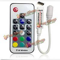 17 клавиш DC 5V-24V РФ беспроводной пульт дистанционного LED контроллер для SMD 3528 5050 RGB LED полосы света