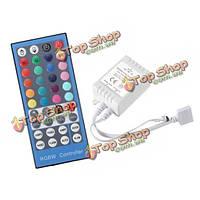 40 клавиш RGBW контроллер ИК-пульта дистанционного DC12-24V для LED полосы белого света RGB