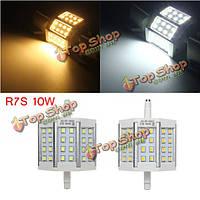 R7s 10Вт 24 LED S яркий 2835 440lm LED ЛАМПА свет замене ламп AC 85-265V нерегулируемых