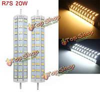 R7s 20Вт 60 SMD 5050 1800lm LED лампа свет потока галоида замены лампы переменного тока 85-265В