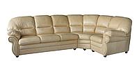 Кожаный угловой диван Кардинал