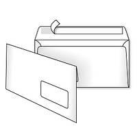 Конверт Е65 (0+0) окно самоклеющийся с силиконовой лентой