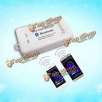 Свет контроллер DC 5-24v 16а для Иос / Android Bluetooth 4.0 5050/3528 RGBW светодиодные ленты беспроводной