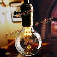 E27 G80 1w старинные антикварные початка Эдисон нить теплый белый LED Светильник света шарика AC 85-265V
