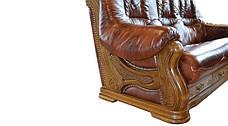 """Тримісний диван в шкірі """"CHEVERNY"""" (208см), фото 2"""