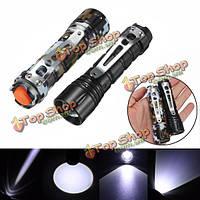 XPE Q5 600lumens 3modes масштабируемые Mini LED фонарик АА/14500