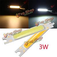 Мини-3w початок LED лампа бар полоса света теплый белый / белый 300lm 10-12v