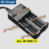 Skilhunt M2 2016 литий-ионная Ni-MH Ni-Cd универсальный многофункциональный зарядное устройство