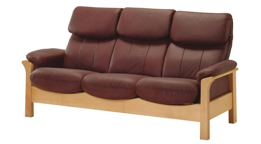 """Новый стильный диван в коже """"CHICAGO"""""""