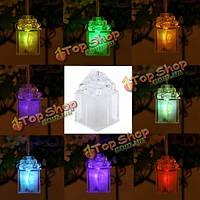 Мило LED изменение цвета коробки свет рождества для подарка домашнего декора партии