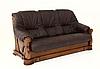 """Трехместный раскладной кожаный диван """"FRYDERYK"""" I, II (195см), фото 3"""