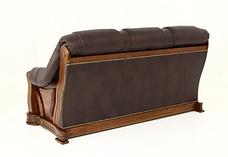 """Тримісний розкладний шкіряний диван """"FRYDERYK"""" I, II (195см), фото 3"""