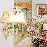 Марочные Sconce цинка настенный светильник для спальни ванной прихожей внутренней отделки