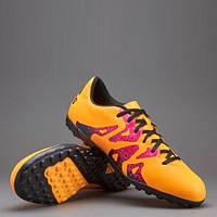 Обувь для футбола (сороканожки) Adidas X 15.4 TF