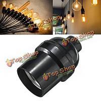 E27/E26 лампочка ламподержатель кулон Edison винтовая крышка гнезда марочные черный 4а