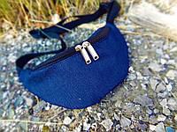 Однотонная джинсовая сумочка, фото 1