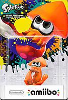 Amiibo Orange Squid Splatoon Collection