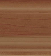 W 135 Вишня - Dollken SLK 50 напольный плинтус пвх с гибкими краями