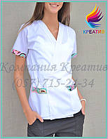 Медицинская куртка-рубашка под заказ (от 50 шт.)