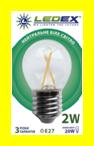 Светодиодная лампа 2Вт Е27 G45 4000К