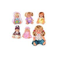 Кукла Оксаночка Metr+ 5078-5057-5068-5079: 6 видов, говорит по-украински, в рюкзаке 26х20х13 см