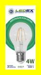 LED лампа 6Вт E27  4000К