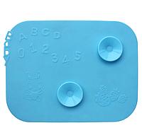 Детский силиконовый коврик для кормления, с присосками для посуды (2 цвета)