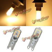 G9 2.5w LED лампа 14 SMD 2835 200lm чисто белый/теплый белый свет лампы переменного тока 220-240В