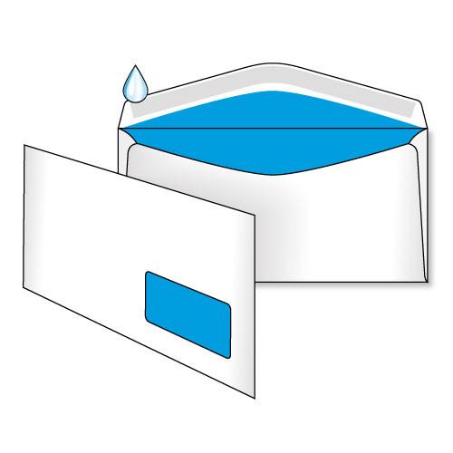 Конверт С65 (0+1) окно, клапан автомат (МК)