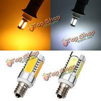 E12 7W LED початка лампы 350lm чисто белый/теплый белый кукуруза свет лампы переменного тока 85-265В