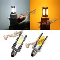 E11 7W LED початка лампы 350lm чисто белый/теплый белый кукуруза свет лампы переменного тока 85-265В