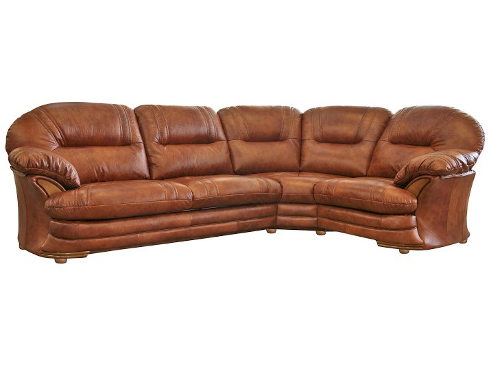 Шкіряний диван Нью-Йорк, м'який диван, меблі з шкіри, диван