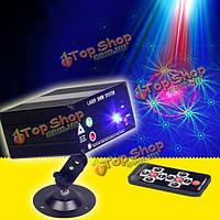 Пульт дистанционного управления 3 отверстие 48 в 1 LED лазерного стробоскопа сценического света для КТВ диско-бар