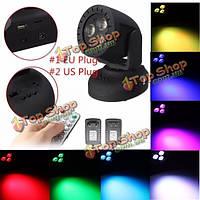 Черный корпус LED многоцветной голосовым сценический эффект освещения клуб партии диско лампа