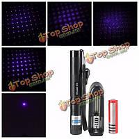 303 фиолетовый видимый луч света лазерный указатель костюм + удлинительная трубка