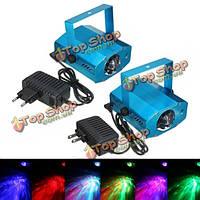3w RGB LED лазерный проектор голосовым дистанционное управление освещением этапа для клуба DJ Party дискотеке