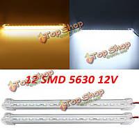 17см 3w 600lm 12 SMD 5630 водонепроницаемая IP44 LED жесткая полоса свет шкафа 12v