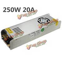 Мини-импульсный источник питания 220В 12В 20A 250w для LED полосы света