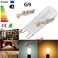G9 3w 2835 SMD 14 LED колбы лампы свет крышка чисто/теплый белый 220В/110В