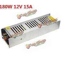 Мини-180w AC 85-265V к 12v 15а Импульсный источник питания для LED полосы
