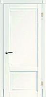 Белая межкомнатная дверь из натурального дуба Tesoro K1 ДГ
