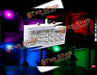 18 LED полноцветный голосовым сценического освещения стробоскопа для бара KTV партии диско