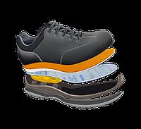 Технология крепления подошвы VIBRAM обуви Grisport Red Rock литьем