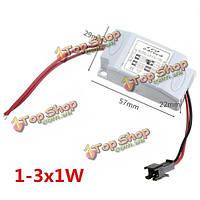 1-3W питания драйвера адаптера трансформатор для LED Свет колбы лампы