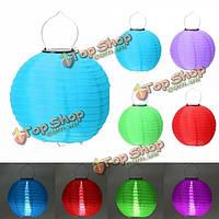 12-дюймов солнечных LED Рождество свет фонаря свадьба на открытом воздухе садовый декор лампы